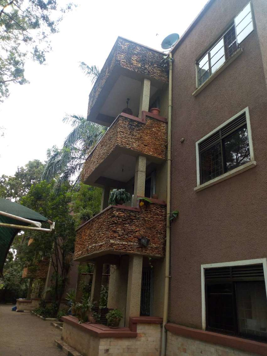 Furnished apartment for rent in Kololo 0