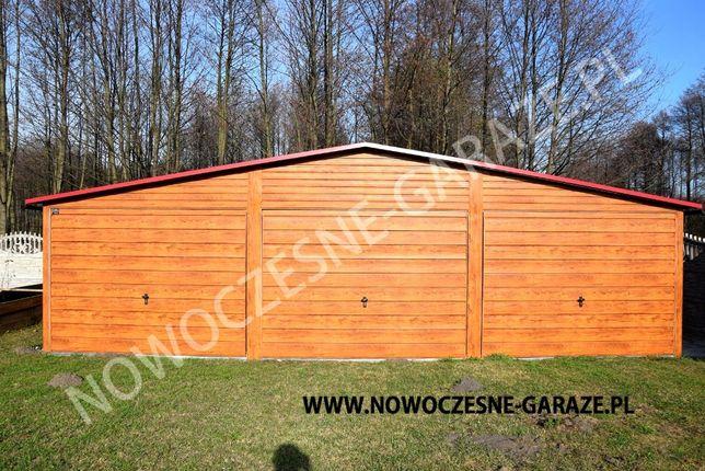 Garaż blaszany drewnopodobny imitacja drewna nowość Wrocław - image 7