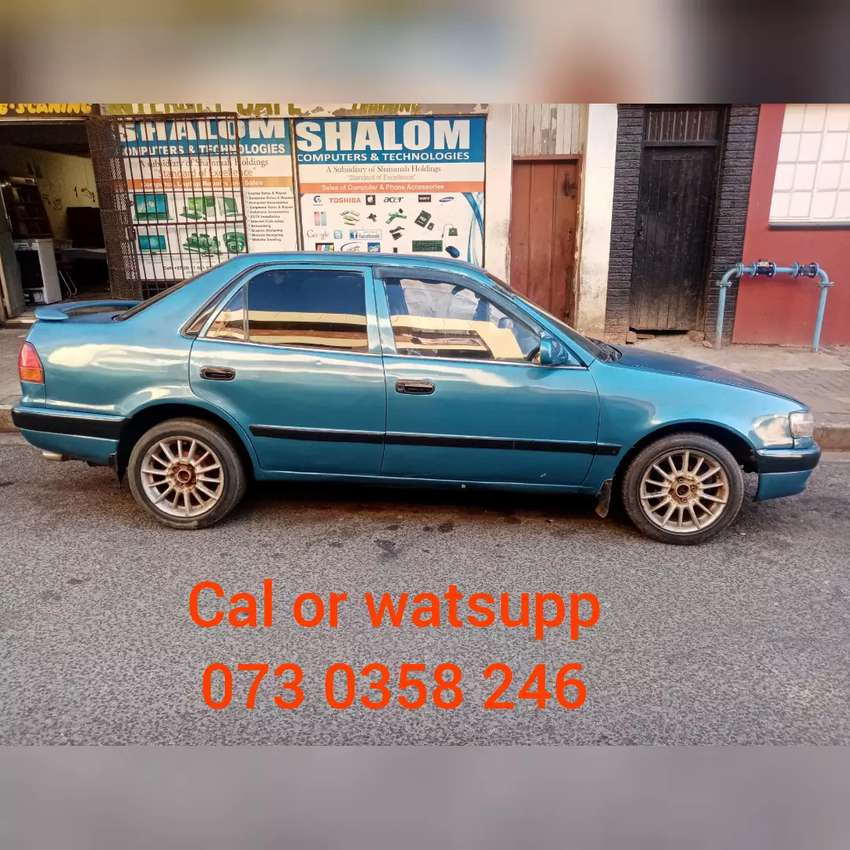 Toyota Corolla RXI shape on sale 0