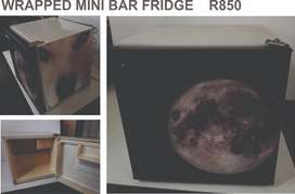Mini Bar Fridge - wrapped