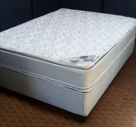 Comfortable Sleep therapy double bed.