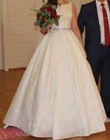 Свадебное платье рост 178 см+8 см каблук