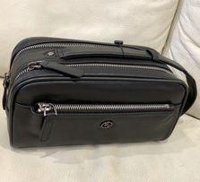 Барсетка Мужская Сумка кожаная сумка барсетка из натуральной кожи