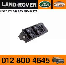 Land Rover Discovery 3 TD V6 window switch