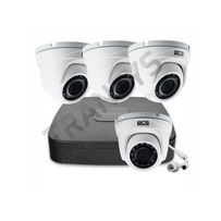 Monitoring, zestaw 4 kamer IP FullHD rejestratorem ze switchem PoE