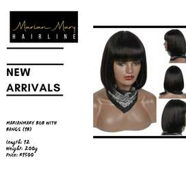 MarianMary Bob with Bangs