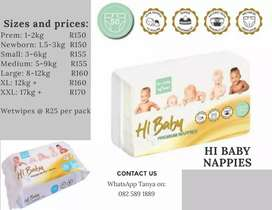 Hi Baby Nappies now available in Kimberley