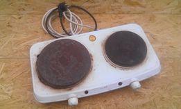 Плита электро двухконфорочная