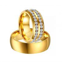 Piękna Pełna Blasku PARA OBRĄCZEK Ślubnych