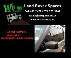 Land Rover Used Spares - Discovery 3 Door Mirrors for sale