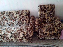 Диван и два кресла(комплект)