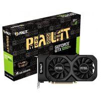 Palit PCI-Ex GeForce GTX 1050 Ti Dual OC 4GB GDDR5
