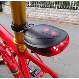 BICYCLE TAIL SAFETY WARNING LIGHT