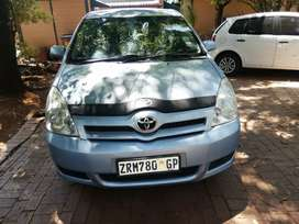 I'm selling a 2006 Toyota Verso 1.6 with 86000km