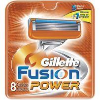 Бритвенные лезвия Gillette Fusion Power 8 шт. в упаковке Оригинал
