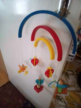 A mobile for kid's room