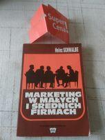 """książka """"Marketing w małych i średnich firmach"""" Heinz Schwalbe"""