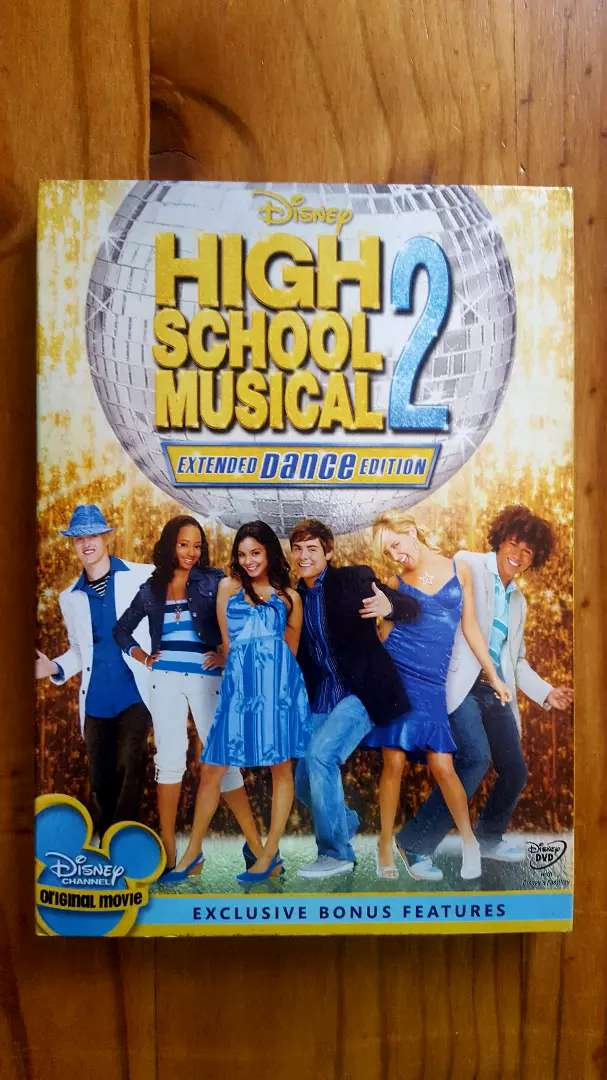 High School Musical 2 Extended Dance Edition 2 Disc Original Dvd 0