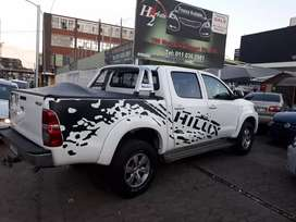 2010 Toyota hilux bakkie on sale