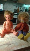 Игрушки СССР . Кукла и Клоун. Большие. Недорого.