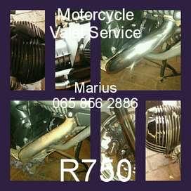 Motorcycle valet service