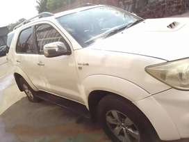 Fortuner stripping for spares only