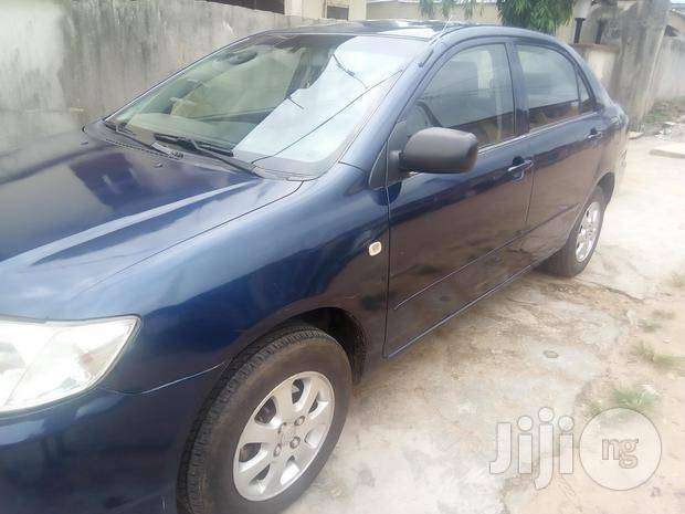 registered toyota corolla 2005(bank type) 750k 0