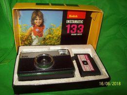 Вінтажний фотоапарат Kodak Instamatic 133 в колекцію made in England