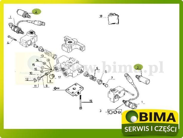 Elektrozawór odpowiedzialny za podnoszenie i opuszczenie Renault Turobin - image 4