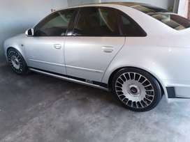 2008 Audi A4 2.0T DTM,6speed Manual, with Maybach magwheels