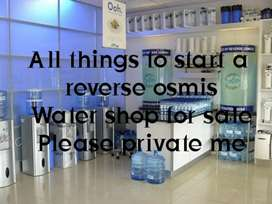 Reverse osmosis water shop inventory