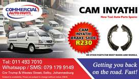 Brake Shoes For CAM Inyathi For Sale.