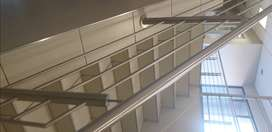 Steel and glass balustrades manufacture and installations