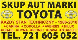 Toyota Corolla e9 e10 e11 SKUP AUT Carina Hiace Avensis Picnic 1.3 16