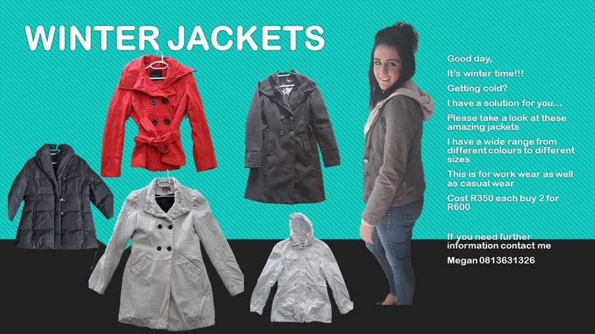 MEN AND WOMAN JACKETS 0