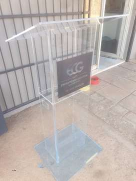 Box Type Clear Acrylic Pulpits