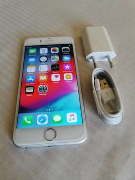 SILVER IPHONE 6S 64 GB