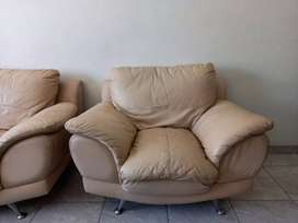 Genuine leather couches for sell