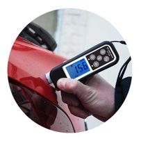 Проверка ЛКП (лакокрасочного покрытия) кузова автомобиля толщиномером