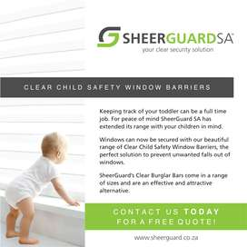 SheerGuard - Clear Burglar bars