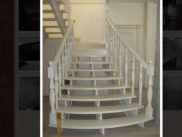 Двери , лестницы,мебель,кровати из дерева на заказ изготовим