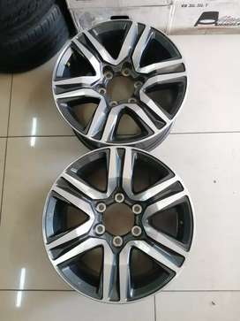 2 brand new Toyota Hillux/fortune mag rims 17 inch