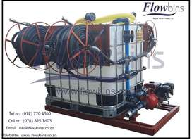 1000L NEW WATER BOWSER / FIRE FIGHTER 2.5-9BAR - MOBILE BAKKIE TANK