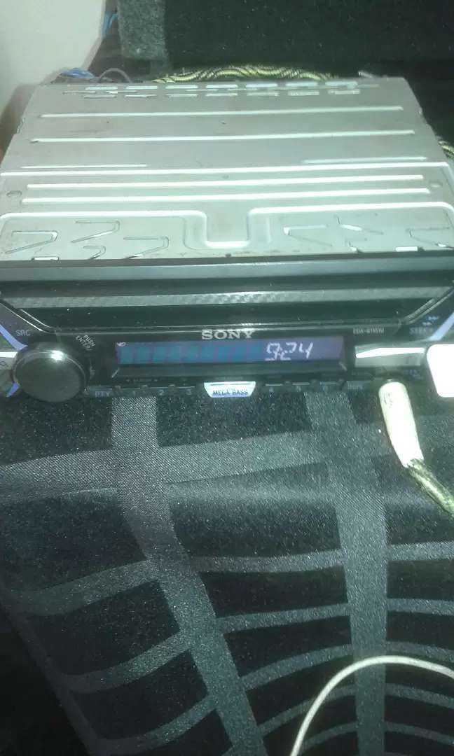 Car sound system xtc sub and amp 0