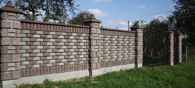 Блок заборный, блок колотый, блок декоративный, рваный камень, скала, Житомир - изображение 5