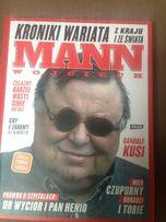 """Wojciech Mann """":Kroniki wariata z kraju i ze świata"""""""