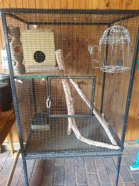 Large Steel Bird Cage
