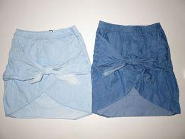 Летняя джинсовая юбка164