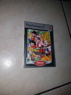 Dragon Ball Z playstation 2 game