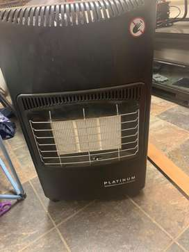 Gas heater plus a 9 kg cylinder